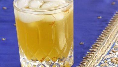 شراب الزعفران البارد