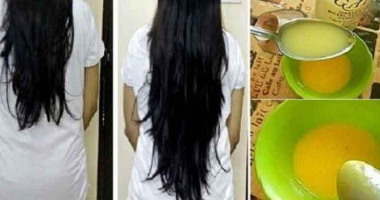 ماسك جوز الهند لتطويل وتنعيم الشعر