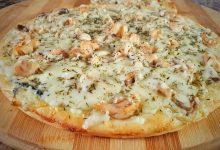 صلصة بيضاء للبيتزا