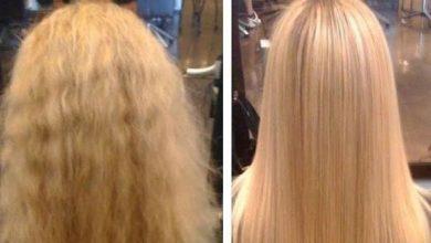 ماسك لتنعيم الشعر كالحرير