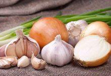 فوائد تناول البصل والثوم
