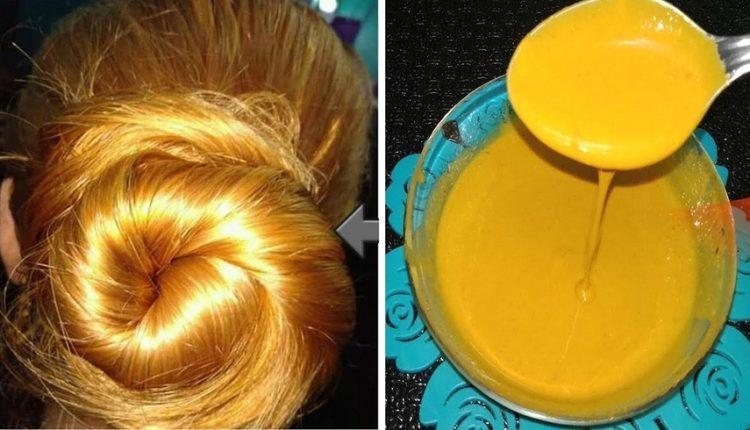 صبغة الشعر باللون الاشقر دون الحاجة للصباغة الكيماوية