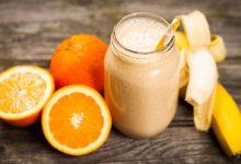 فوائد الموز والبرتقال