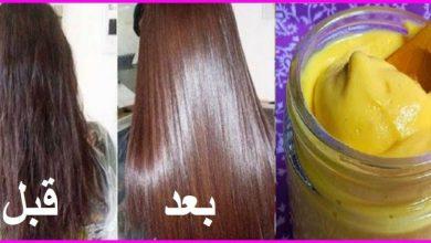 وصفة لتنعيم الشعر طبيعيا و بدون عناء