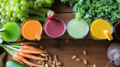 فوائد عصير الخضراوات