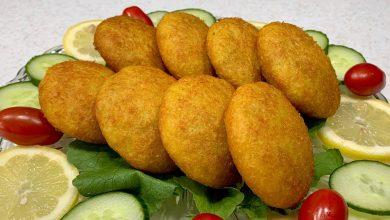 طريقة عمل كبة البطاطس