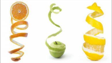 فوائد قشور الفواكه