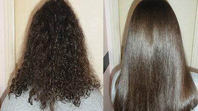 ماسك لترطيب الشعر ومحاربة القشرة وإلتهابات فروة الرأس