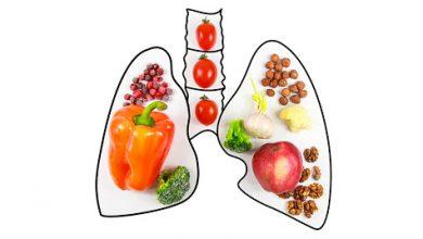 أطعمة لتعزيز صحة الرئتين