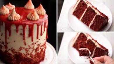 الكيكة المخملية لرأس السنة