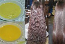 تنعيم الشعر الخشن بوصفة سريعة ومنزلية