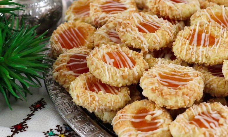 مطبخ حليمة الفيلالي يقدم لكم حلوى بالزبدة والمربى