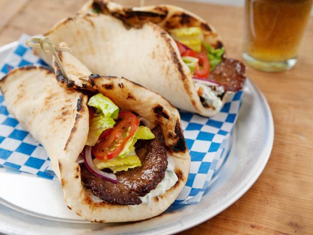 شاورما اللحم السريعة