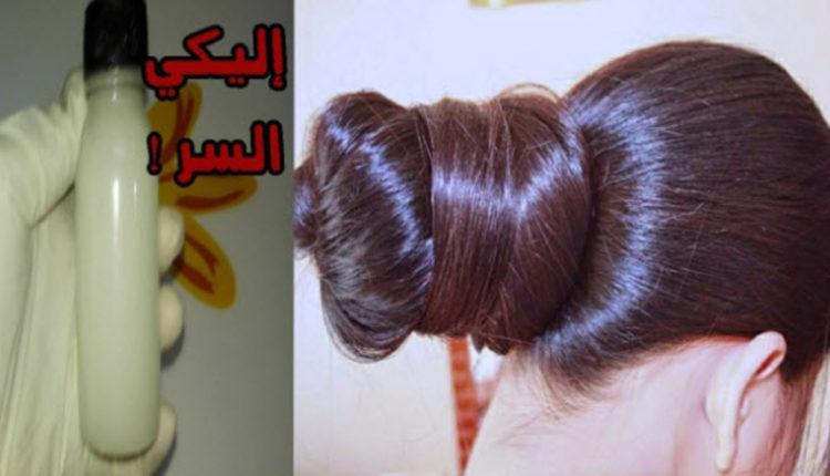 خلطة تجعل الشعر ناعم وغاية في الجاذبية والنعومة