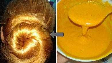صباغة الشعر باللون الأشقر طبيعيا