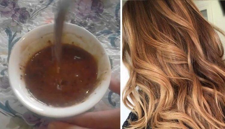 الوصفة الطبيعية لصباغة الشعر بلون مغاير وفاتح