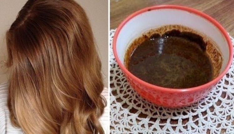 صبغ الشعر بوصفة طبيعية باللون البني