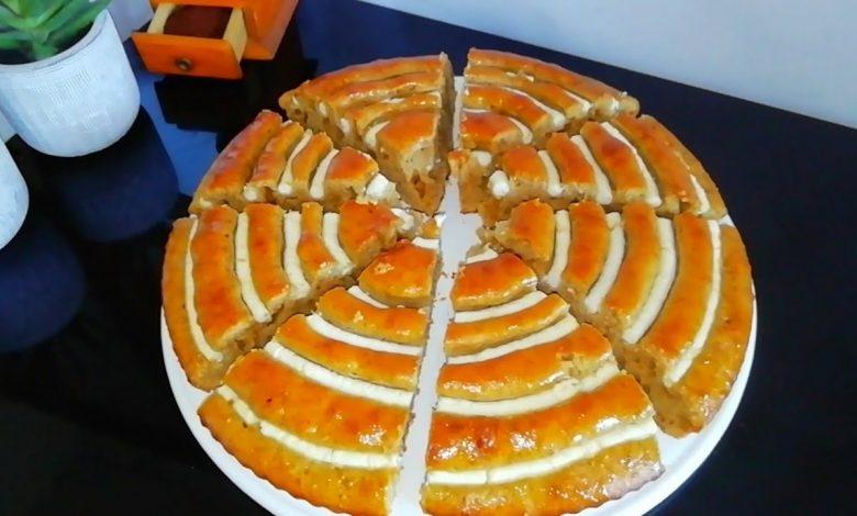 طريقة عمل الكيكة الحلزونية