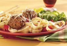 طريقة عمل فوتشيني بكرات اللحم