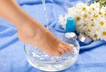 علاج رائحة القدمين بالأعشاب والنباتات