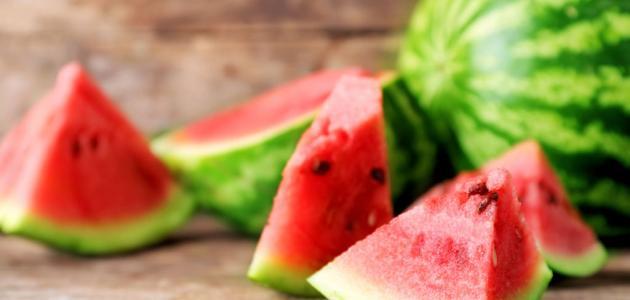 فوائد البطيخ للمعدة