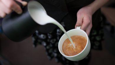 فوائد القهوة بالحليب