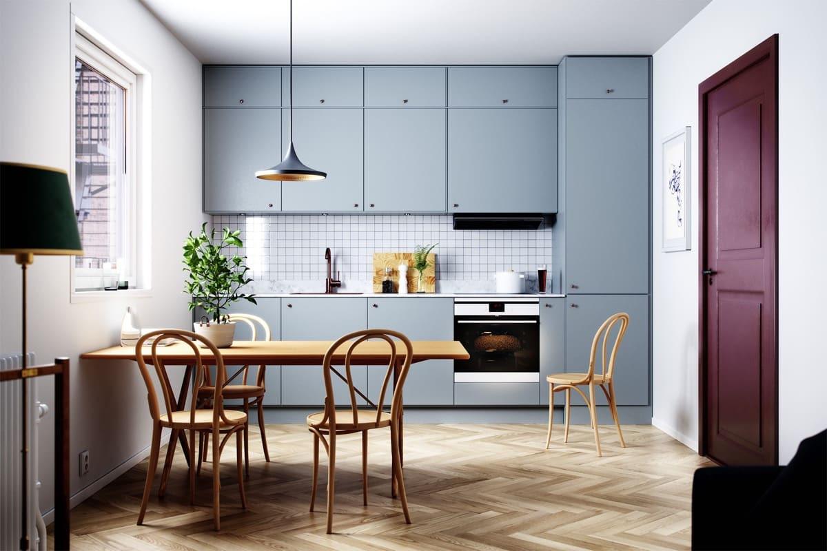 6 أنواع المطابخ المنزلية