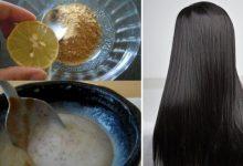 الوصفة الطبيعية الجبارة التي تنعم الشعر من أول استعمال