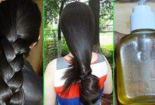 خلطة جوز الهند وزيت الخروع لتطويل الشعر وإنباته