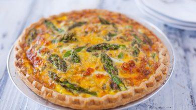 طريقة تحضير تارت بالخضروات والجبنة دايت