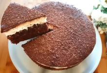 طريقة عمل كيكة الشوكولاتة الاسفنجية