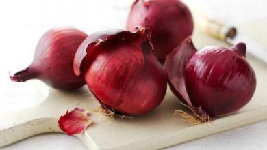 فوائد البصل الأحمر الصحية