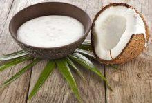 فوائد حليب جوز الهند لغسل الشعر