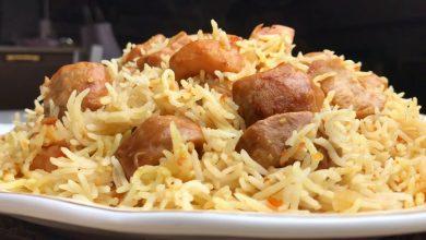 كبسة الفقع باللحمة من المطبخ السعودي