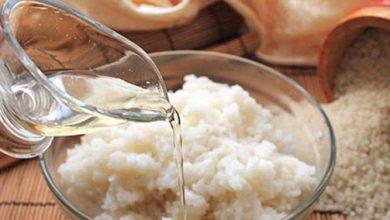 ماسك الأرز المسلوق للبشرة والوجه