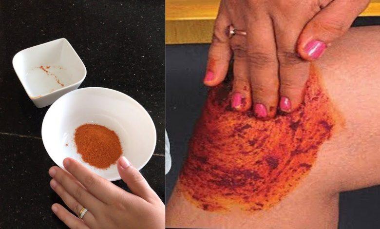 وصفة طبيعية بالفلفل الحار للتخفيف من آلام المفاصل والعظام