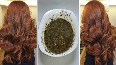 وصفة طبيعية لصباغة الشعر بالبني الشوكلاتي