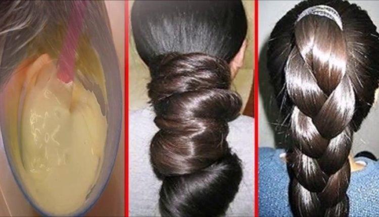 وصفة منزلية للحصول على شعر ناعم وحريري