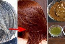وصفة مثالية لتغطية الشعر الأبيض وتعزيز كثافته
