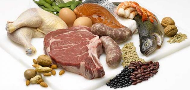 أين يوجد الحديد في الطعام بكثرة
