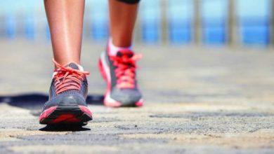 الكيلومتر كم خطوة مشي