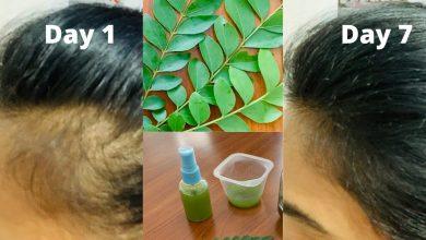 خلطة الزيوت الأربعة لتكثيف الشعر