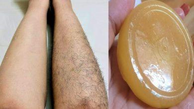 صابون إزالة الشعر الزائد دون الحاجة لجلسات الشمع المؤلمة
