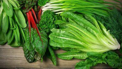 طريقة حفظ الخضروات الورقية في الثلاجة