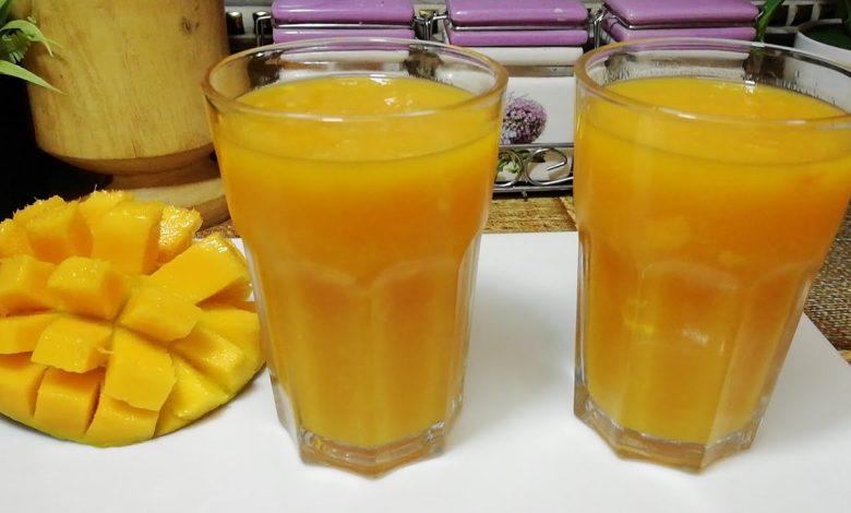 طريقة عمل عصير طبيعي لذيذ