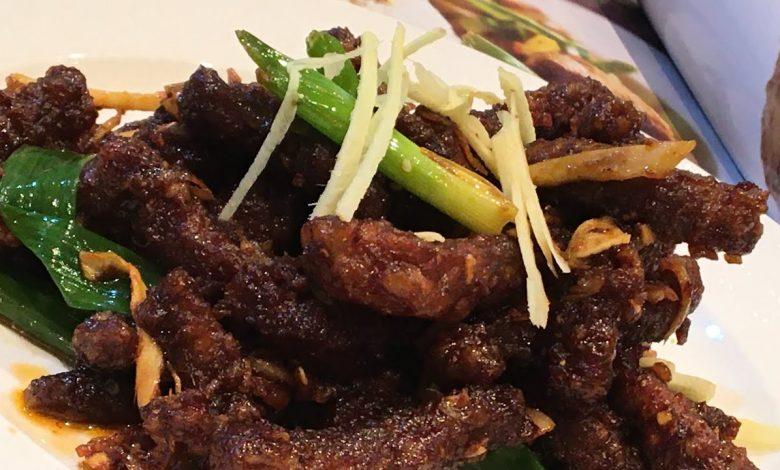 طريقة عمل لحم سيشوان الصيني