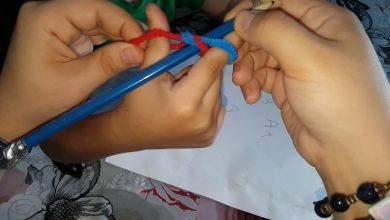 طريقة مسك القلم للطفل بالخطوات
