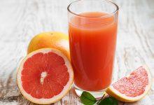 عصير الليمون والعنب للديتوكس