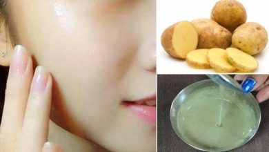 ماسك عصير البطاطس للحصول على بشرة ناصعة البياض