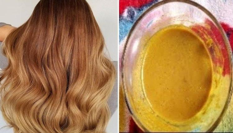 وصفة طبيعية لصباغة الشعر بلون فاتح و مميز